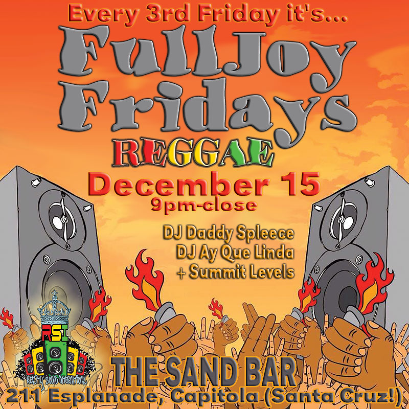 FullJoy Fridays Santa Cruz